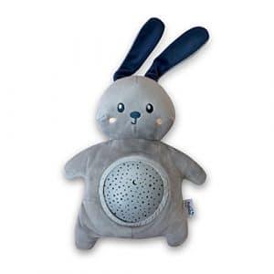 Pabobo Mimi Bunny Projecteur d'Étoile Gris