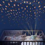 Pabobo – Milky Way – Veilleuse Musicale Nomade et Projecteur Dynamique Etoiles pour Bébé et Enfant – Gris