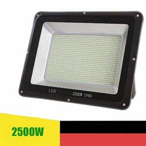Projecteur LED, Super Brillant Économie Énergie Floodlight Imperméable Dissipation Rapide Chaleur Masque Verre Trempé Lumière D'Inondation (Size : 2500W)
