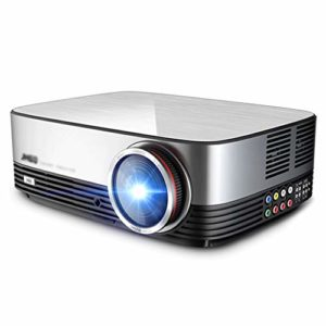 Projecto, LED Portable Vidéo Projecteur avec LED 30 000 heures lampe Life Support 1080p Ménage conférence de bureau sans fil home cinéma HD projecteur commercial