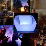 JIAWEI Veilleuse LED Éclairage Créatif Télécommande Éclairage Canapé Charge USB 16 Conversion De Couleur – 120 * 100 * 71Cm,120 * 100 * 71cm