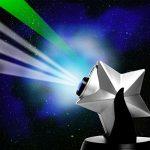 Projecteur LED Twilight Cosmos & Stars – Univers Galaxy Projection Night Blue Sky – Lampe de nuit Humeur Kids Kids