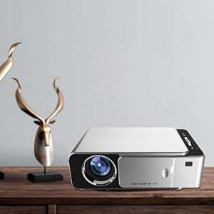 Kafuty Mini projecteur Domestique, vidéoprojecteur Full HD 3500 Lumens 720P, projecteur multilingue, Prise en Charge de l'affichage OSD, Prise en Charge de la télécommande Infrarouge