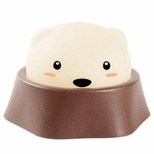 Jouer hamster veilleuse-enfants Creative USB charge enfant mignon/chambre à coucher chevet lumière bébé Fun énergie économie lampe Smart Home chambre à coucher LED éclairage
