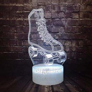 3D Veilleuse Mouvement Série 003 Coloré Touch Lampe de Table Halloween Cadeau Base 26