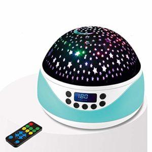 DHTOMC Lumières Projecteur Enfants Nuit Star Light Projecteur Lampe d'éclairage Cadeau Ado Bébé ami pour Fêtes d'anniversaire (Color : Green, Size : One Size)