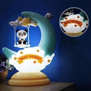 Veilleuse LED de dessin animé bébé respirer pour enfants enfant fille jouet cadeau de Noël