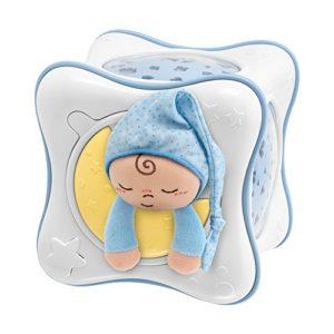 Chicco Veilleuse Cube Arc en Ciel First Dreams Bleu