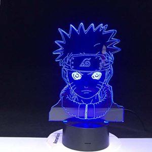 3D LED couleur changeante lumière chambre veilleuse LED veilleuse cadeau