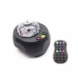 JXBH Projecteur De Lumière, Projecteur De Vague Océanique, Lampe De Nuit étoilée avec Minuterie, Cadeau De Décoration De Fête pour Enfants Adultes