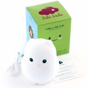 ⭐ Veilleuse Bébé & Enfant [Bébé Dodo®] – Lumière LED douce et apaisante – Veilleuse nomade rechargeable par USB