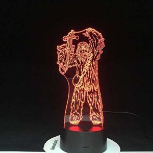 Veilleuse LED couleur 3D pour lampe de table veilleuse couleur 3D