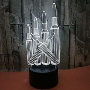 Veilleuse pour enfants,3D motif Des crayons pour chambre d'enfant chambre bébé anniversaire chambre salon décoration cadeau