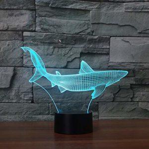 Veilleuse pour enfants,3D motif Forme de grosse baleine pour chambre d'enfant chambre bébé anniversaire chambre salon décoration cadeau