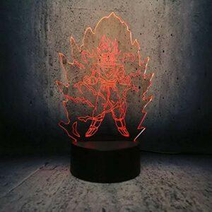 3D veilleuse abstraite 3D veilleuse multicolore veilleuse atmosphère lumière chambre décoration lampes