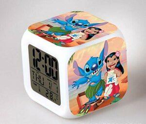 alicefen Réveil pour Enfants réveil numérique Jouet réveil LED réveil réveil réveil Table Lumineuse