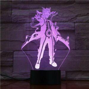 Anime Naruto modèle veilleuse Naruto Shippuuden 3D lampe décoration LED lampe de Table