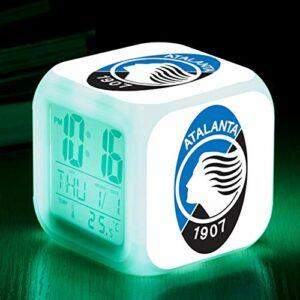 Kids LED 7 Coloralarm Clock , Réveil jouet pour enfants , Veilleuse de chambre à coucher , Le meilleur cadeau de Noël