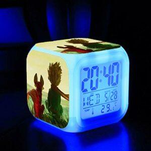 Le meilleur cadeau de Noël , Réveil jouet lumineux , Changement de couleur Réveil Lumière , Vente chaude Réveil pour enfants