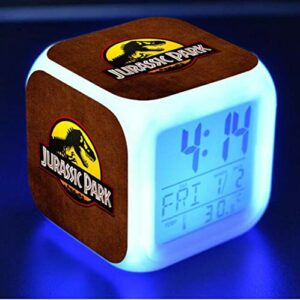 Led Reloj Despertador Digital Clock Cartoon Alarm Clock Children'S Toy Electronic Wake-Up Light Watch Reveil Wekker 8