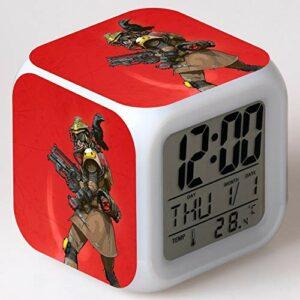 LED réveil Dessin animé réveil numérique Jouet pour Enfants Lampe de réveil LED Horloge réveil réveil