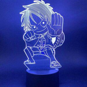 Lumière 3D Q version route des enfants lumière volante chambre des enfants veilleuse bébé cadeau spécial acrylique veilleuse décoration LED veilleuse