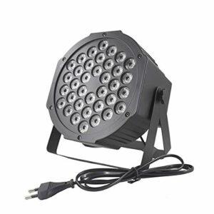 Peng sounded Projecteur LED Star Light 36W 36LEDs Projecteur Stage Light Sound Activé RGB Disco DJ Bar Dye Beam Lampe Star Night Lightspour Les Enfants