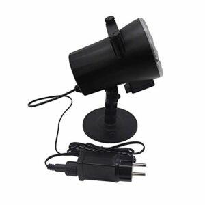 Peng sounded Projecteur LED Star Light Projecteur Animé Lampe De Scène Projecteur De Film De NeigeLampe De Projection Musicale pour Les Enfants