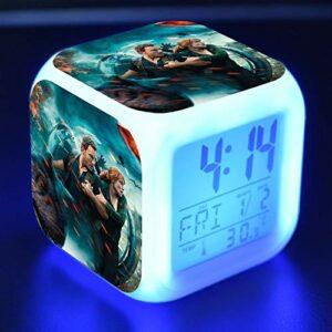 shiyueNB Réveil de Dessin animé Jouet pour Enfants LED Reloj Despertador Horloge numérique réveil électronique Montre Wekker 5