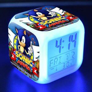 shiyueNB Réveil LED Dessin animé réveil numérique Lampe Jouet pour Enfants Horloge LED Reloj Despertador Table Reveil Table Wekker 19