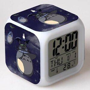 shiyueNB Réveil LED Dessin animé réveil numérique Lampe Jouet pour Enfants Horloge LED Reloj Despertador Table Reveil Table Wekker 5