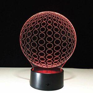 Veilleuse 3D 3D lumière USB LED veilleuse lumière tactile nuit lumière LED pour armoire de cuisine