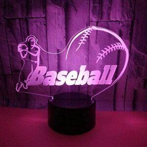 ZWANDP Veilleuse pour enfants , Illusion Lamp , 7 couleurs Dimmable USB Powered Touch , Meilleur cadeau pour enfants filles garçons