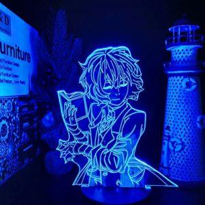 Anime danse livre de lecture 3D lampe de table LED acrylique veilleuse multicolore décoration cadeau