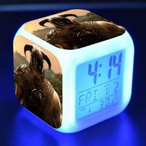 Dessin Animé RéVeil Enfants Jouets Led Reloj Despertador RéVeil NuméRique RéVeil éLectronique Table Lumineuse Reveil Wekker 13
