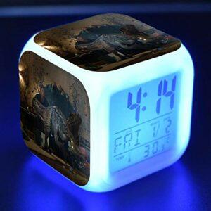 Monde Jurassique Dessin Animé RéVeil Jouet Pour Enfants Led Reloj Despertador Horloge NuméRique RéVeil éLectronique Montre RéVeil Wekker 15