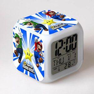 RéVeil Jouets Pour Enfants Horloge NuméRique éLectronique Reloj Despertador Dessin Animé Led Horloge FêTe Anniversaire Cadeau Table RéVeil 06