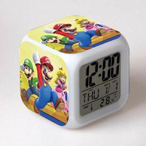 RéVeil Jouets Pour Enfants Horloge NuméRique éLectronique Reloj Despertador Dessin Animé Led Horloge FêTe Anniversaire Cadeau Table RéVeil 20