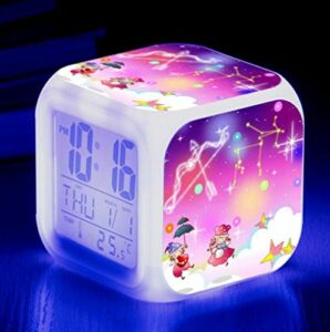 WH-PORP Grand réveil à affichage LED pour enfants
