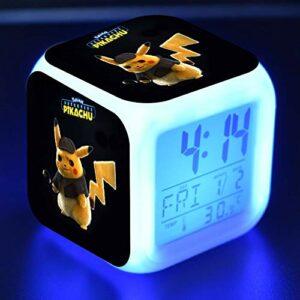 Yyoutop Réveil numérique Guide pour Enfants Jouet de Dessin animé coloré réveil Lumineux Horloge de Bureau réveiller la lumière
