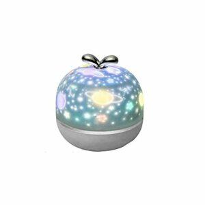 AQHXLS Lampe de projecteur Starry Sky Sky, Cosmic Planet motif de dessin animé LED Lampe de projection, decoration de la pièce cadeau enfant meilleur cadeau pour bébé chambre, 10 séries de film étanch