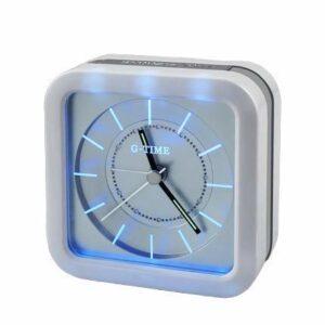 Dessin animé réveil Alarme Mignon Horloge Veilleuse réveil Table Lumineuse Capteur Enfant Lampe USB Lampe de Bureau Kid Cadeau LUDEQUAN