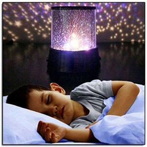 IANSISI Incroyable Lampe de projecteur à LED Starry Sky , Starlight Cosmos Master Kids Gift Battery USB Battery Night Light , pour Les Enfants , LED Night Lights