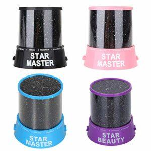 IANSISI LED Rotation Nuit , Projecteur de Lumière Starry Sky Star Master , Enfants Enfants Sommeil Lampe de Projecteur Romantique Cadeaux pour Enfants , Veilleuses LED