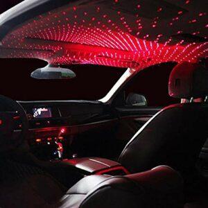 IANSISI Mini LED Voiture Toit étoile veilleuse , Lampe décorative at projecteur atmosphère réglable Maison plafonnier décoration lumière , Lampe décorative