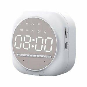 Réveil Numérique Lumineux Bluetooth Alarm Réveil LED, Conception À Double Réveil Avec Haut-parleur Bluetooth Luminosité Réglable Simple À Utiliser Et Facile À Observer, Pour Enfant Les Jeunes
