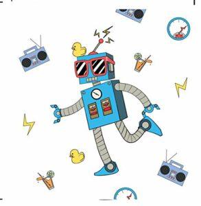 upain Réveil numérique pour enfants – Réveil lumineux à LED – Réveil pour enfant – Réveil avec alarme – Changement de couleur – Pour filles et garçons – Cadeau d'anniversaire