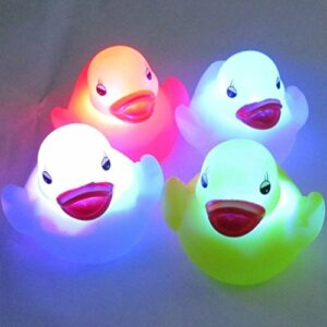 Go_believe Veilleuse LED étanche pour bébé Canard 4 couleurs changeantes