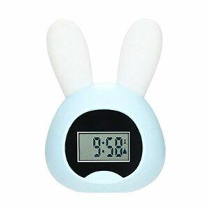 Horloge de chevet, réveil réglable Famille Chambre à coucher Chambre à coucher Lampe de chevet Intelligent LED Réveil électronique Lampe de réveil de Sunrise coloré (Couleur: B1, Taille: 108×70.5x155m