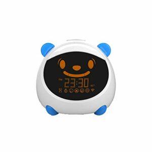 Réveil intelligent Wi-Fi pour enfants avec contrôle vocal par Alexa Google Home BlueUSPlug